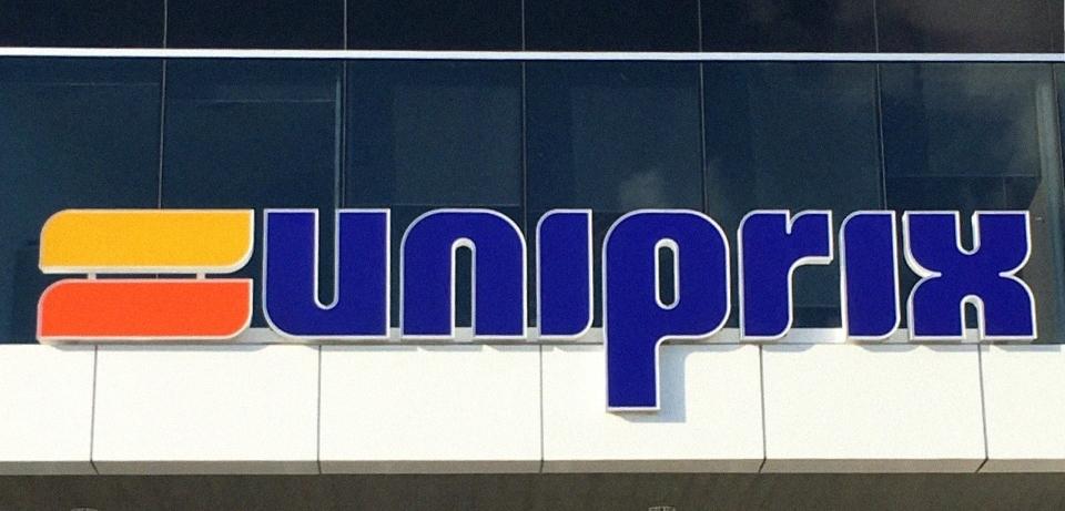 Logo d'une batisse Uniprix