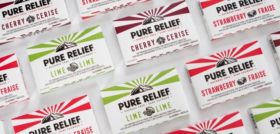Montage de boîte santé et beauté de Pure Relief