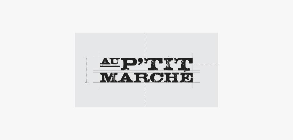 Logo au petit marché
