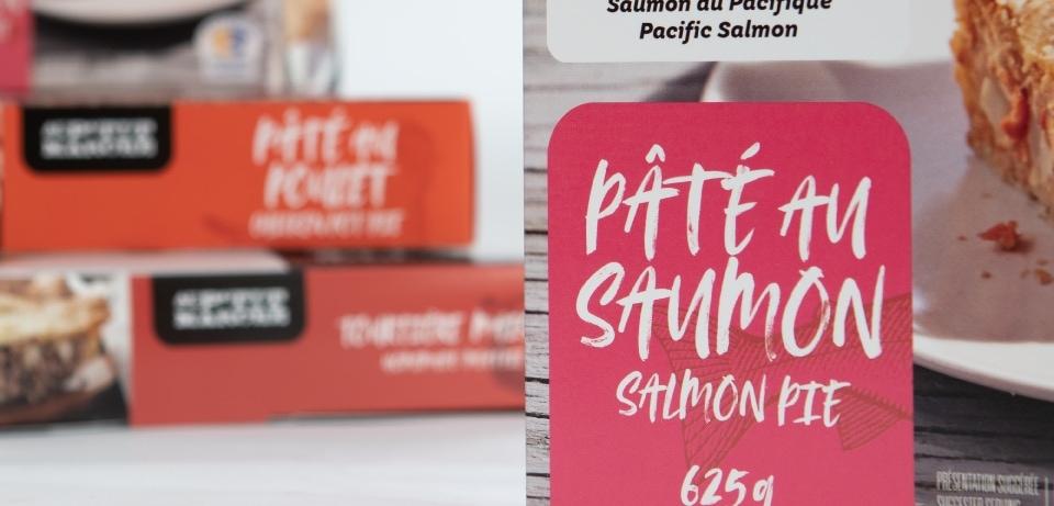 Pâté au saumon alimentaire du petit marché