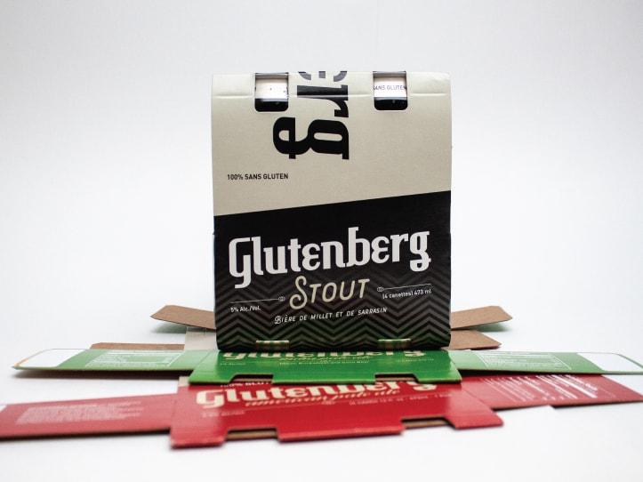 Boîte alimentaire de la compagnie Glutenberg