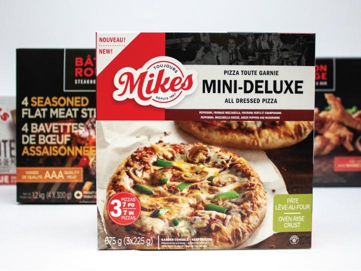Boîte alimentaire de la compagnie Mikes