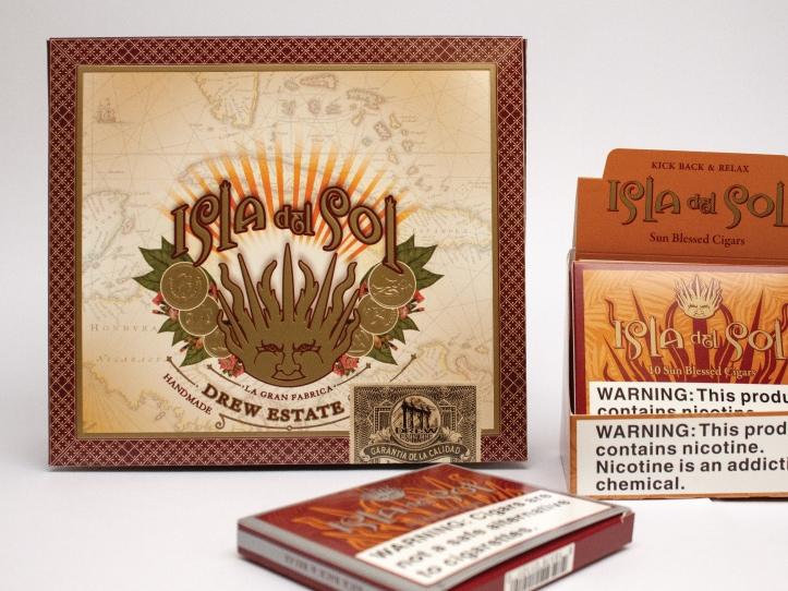 Boîte de tabac de la compagnie Drew Estate
