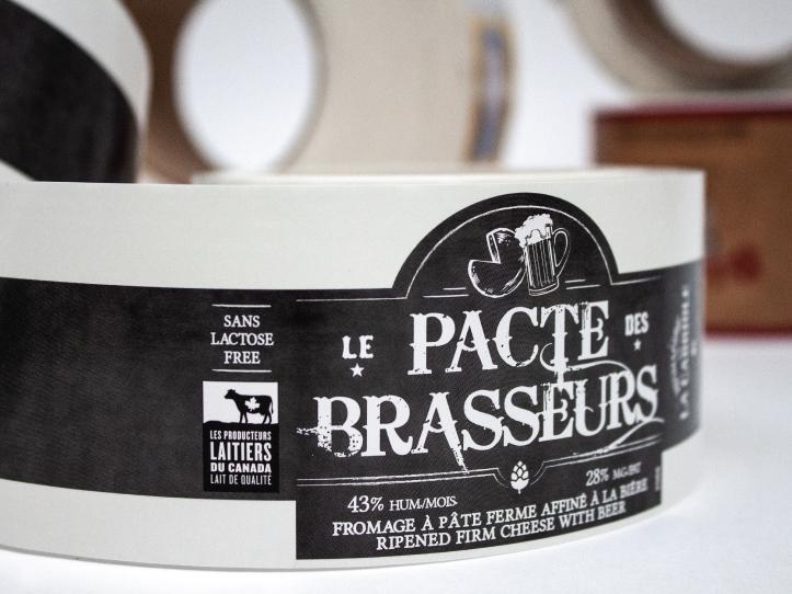 Étiquette Le Pacte des Brasseurs dans le marché alimentaire