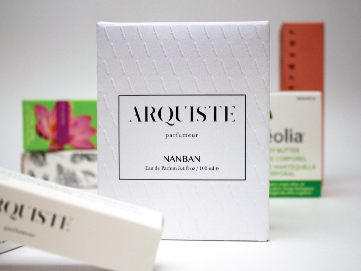 Montage de boîte santé et beauté de la compagnie Arquiste