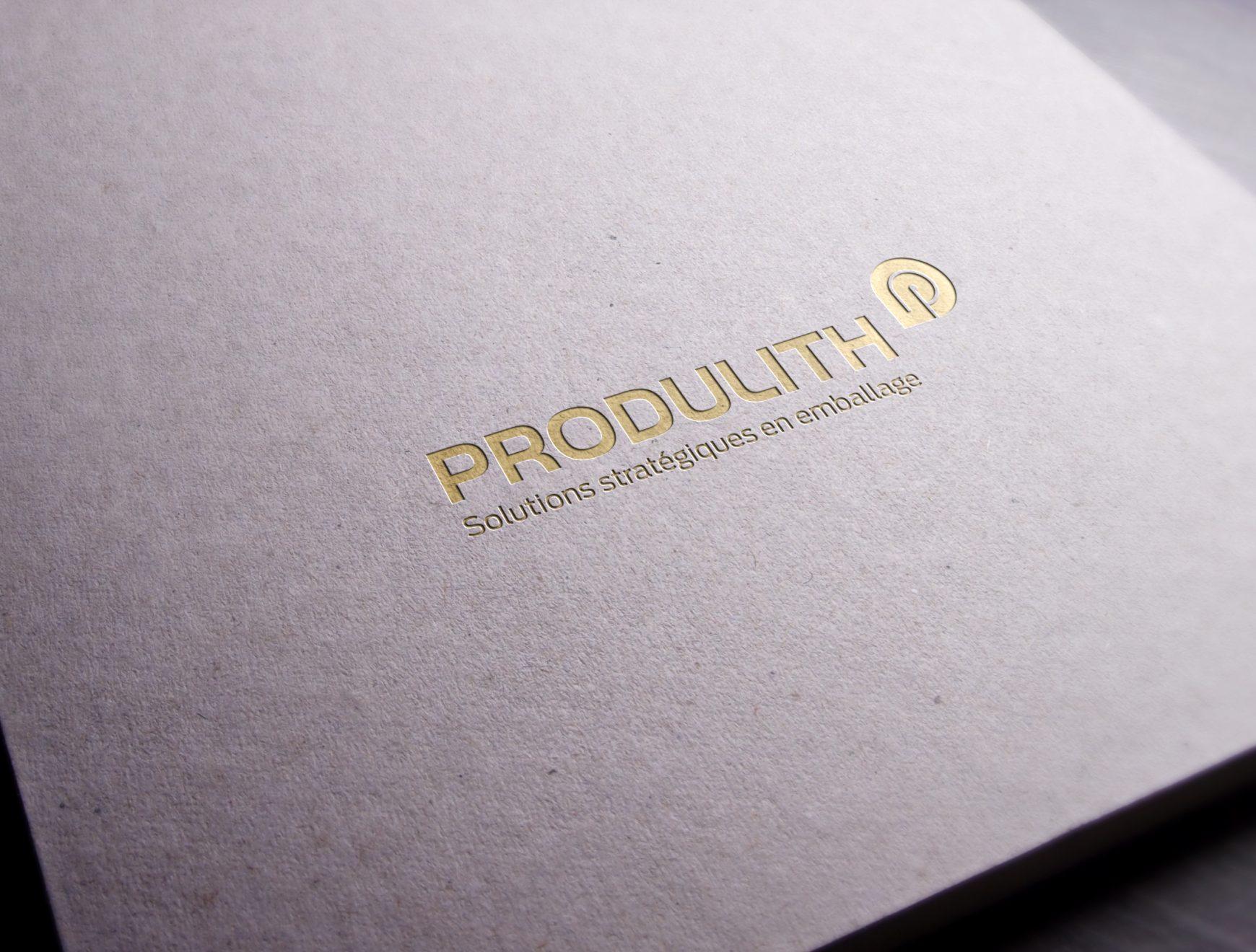 Estompage Produlith sur fond foncé