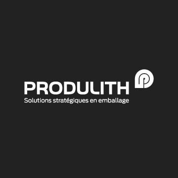 Logo Produlith sur fond gris