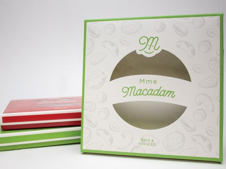 Boîte alimentaire Mme Macadam