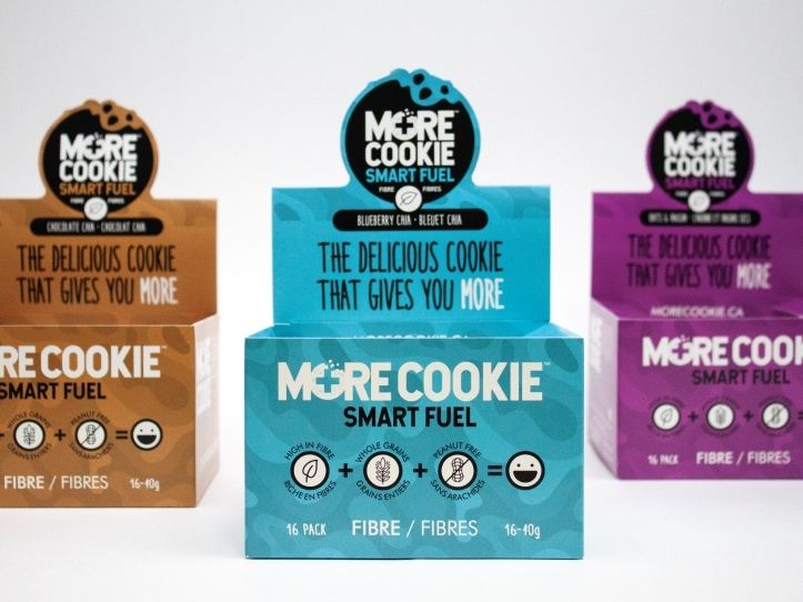 Boîte pour more cookie smart fuel alimentaire