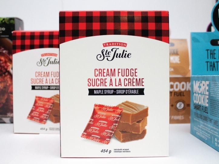 Boîte de sucre à la crème alimentaire de la compagnie Tradition Ste Julie